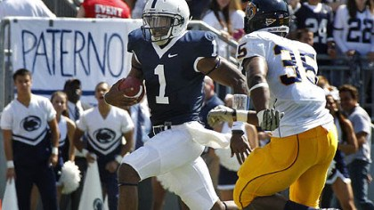 Rob Bolden Penn State quarterback Rob Bolden has thrown for 823 yards this season.