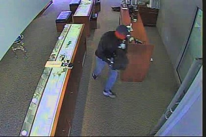 Robbery 4 Image from the Seven Fields jewelry store robbery.