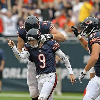 robbiegould Chicago's Robbie Gould out of Penn State has evolved into one of the NFL's all-time great kickers.
