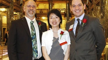 Robert Enick, Tracy Cui and Steven Little Awardees Robert Enick, Tracy Cui and Steven Little