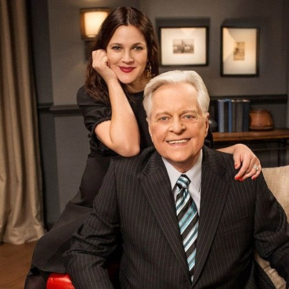 Robert Osborne and Drew Barrymore Robert Osborne and Drew Barrymore.