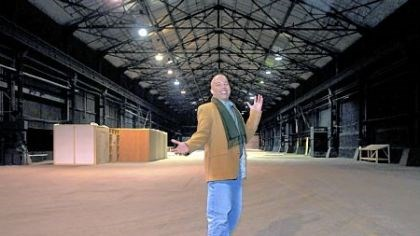 Robert Stewart Robert Stewart, film fund director of Mogul Mind, stands in one of the Strip District soundstages used for movie, TV or commercial productions.