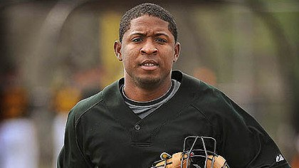 Robinzon Diaz Catcher Robinzon Diaz will be worked at multiple positions in Class AAA Indianapolis.