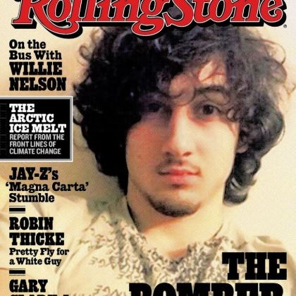 Rolling Stone Boston Marathon bombing suspect Dzhokhar Tsarnaev appears on the cover of the Aug. 1 issue of Rolling Stone.