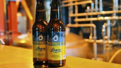 Rooney's Lager The new Rooney's Lager.