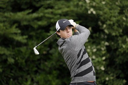 rory mcilroy Rory McIlroy, of Northern Ireland, tees off on the 11th hole during the second round of the U.S. Open golf tournament at Merion Golf Club today.