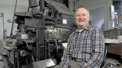 Rudy Lehman Rudy Lehman, 76, is one of the last professional hot metal typesetters in the area, keeping busy in his Wilkinsburg shop.