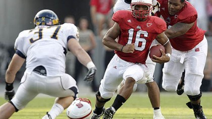 Russell Wilson North Carolina State quarterback Russell Wilson will present a challenge to Pitt's defense this week.