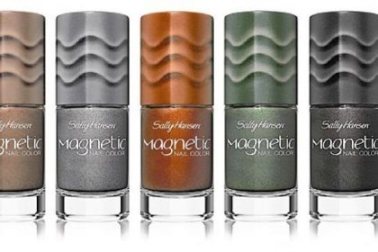 Sally Hansen magnetic nail color Sally Hansen magnetic nail color, $9.99 each.