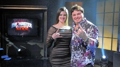 "Sarah Miller and Steve Tefft Pittsburgh tattoo artist Sarah Miller was runner-up on Spike TV's ""Ink Master."" Steve Tefft of Groton, Conn., took home the $100,000 prize Tuesday during the live finale in New York."