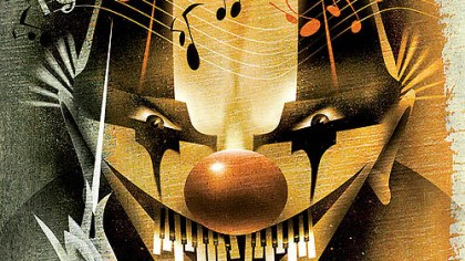Scary music illustration