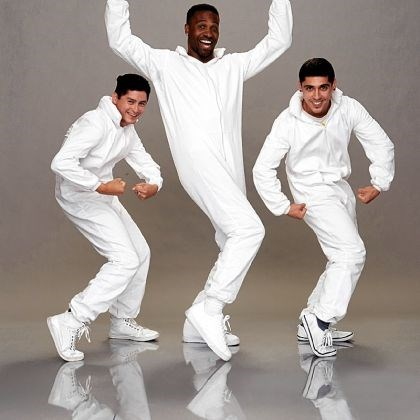 "SensEtion Wilkinsburg native Trey Richardson, middle, and fellow dancers Arody Trujillo and JM Rodriguez will perform live as SensEtion on tonight's ""America's Got Talent."""
