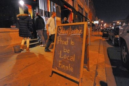 "Shadow Lounge Shadow Lounge is closing with a show ""Proud to be Local."""