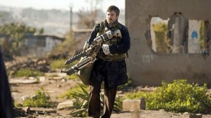 Sharlto Copley Sharlto Copley in sci-fi thriller DISTRICT 9.