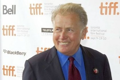 Sheen 1 Martin Sheen, seen in a 2010 photo, will be feted here April 13.