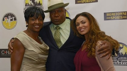 Sheilda Braddock, Ving Rhames and Lisa Cook Sheilda Braddock, Ving Rhames and Lisa Cook
