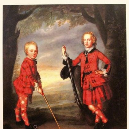Sir James Macdonald and Sir Alexander Macdonald Sir James Macdonald and Sir Alexander Macdonald by William Mossman, an oil on canvas at the Scottish National Portrait Gallery.