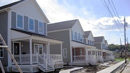 Sixth Street Sixth Street in Jeannette is being revitalized with new homes for low-income, first-time buyers.