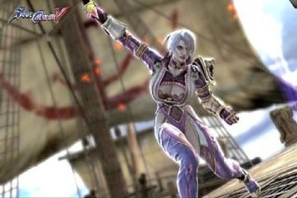 "'SoulCalibur' The ""SoulCalibur"" games are famous for hyper-sexualized female characters."