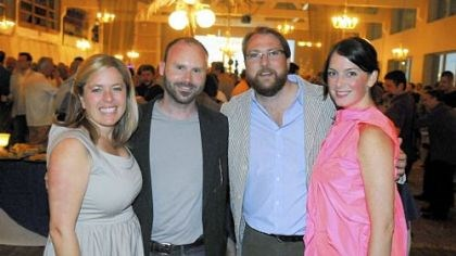 Sprout Fund hosts Hothouse 2009 From left, Sprout Fund executive director Cathy Lewis Long, Rob Long, board chair Henry Simonds and Colleen Daily.
