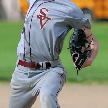 Steel Valley Baseball Sophomore pitcher Brandon Donovan helped Steel Valley clinch the Section 4-AA title Monday.