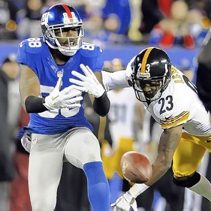 Steelers lewis Steelers' Keenan Lewis is called for interference on the Giants' Hakeem Nicks in the second quarter.