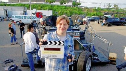 "Stephen Chbosky filming ""Perks"" Stephen Chbosky, shown during filming of ""The Perks of Being a Wallflower"" here in 2011, is up for an Independent Spirit Award."