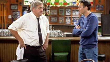 "Steve Byrne and Dan Lauria Former Pittsburgher Steve Byrne, right, stars with Dan Lauria in ""Sullivan and Son,"" a show set in Pittsburgh and premiering on TBS this summer."