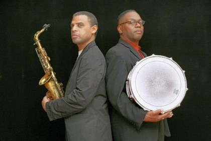 Steve Wilson and Lewis Nash Saxophonist Steve Wilson, left, and drummer Lewis Nash will be recording their performance at Manchester Craftsmen's Guild this weekend.