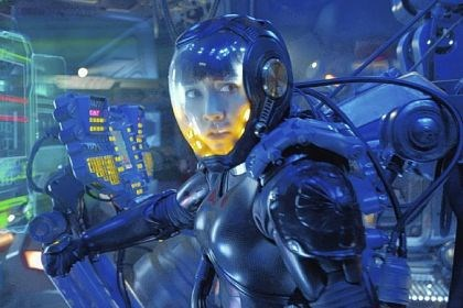 "Summer movies Rinko Kikuchi portrays Mako Mori in the sci-fi action adventure ""Pacific Rim."""