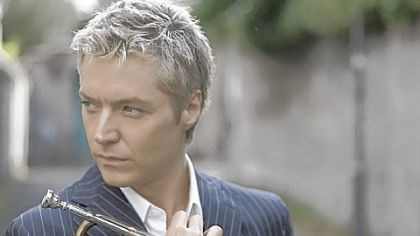 Symphony Pops Chris Botti: The trumpeter will play here in February.