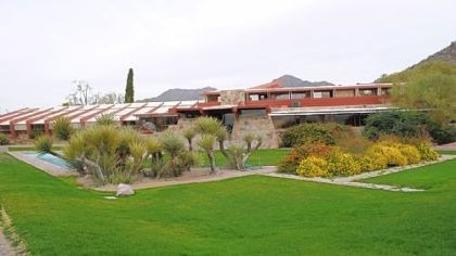 Taliesin West Taliesin West, the winter home and architecture school Frank Lloyd Wright built in 1938, sits at the foothills of the McDowell Mountains near Scottsdale.