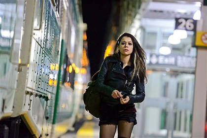 "Tatiana Maslany In BBC America's ""Orphan Black,"" Tatiana Maslany portrays Sarah, who takes on the identity of a woman who looks like her after witnessing her death."