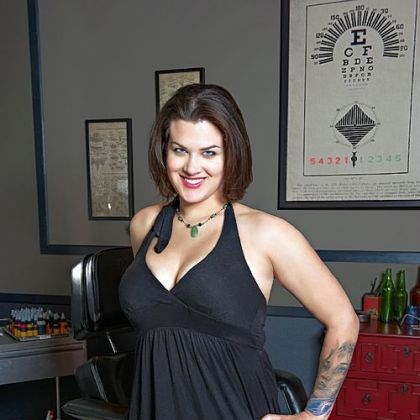 "Tattoo artist Sarah Miller ""I love doing people; I just like doing figures,"" says Sarah Miller of Wyld Chyld studio in Brookline. She is competing on Spike's ""Ink Master"" reality TV show, which airs 10 p.m. Tuesdays."