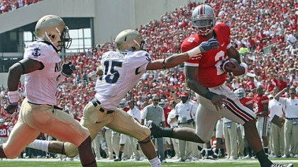 Terrelle Pryor Quarterback Terrelle Pryor leads Ohio State versus Southern California Saturday.