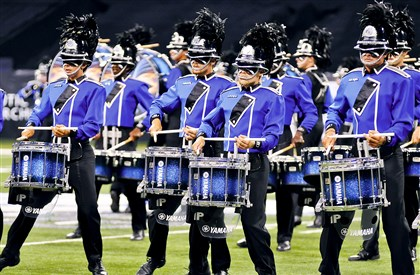 The Bluecoats of Canton, Ohio The Bluecoats of Canton, Ohio, who placed in the top seven drum and bugle corps in the nation last year, will be in the lineup for Innovations in Brass: Pittsburgh at 7:30 p.m. Wednesday at Gateway High School's Antimarino Stadium in Monroeville.