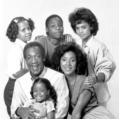 "'The Cosby Show' Quintessential sitcom from the 1980s ""The Cosby Show,"" with, clockwise from top left, Tempestt Bledsoe, Malcolm-Jamal Warner, Lisa Bonet, Phylicia Rashad, Keshia Knight Pulliam and Bill Cosby, is one of the influences covered in National Geographic's ""The '80s: The Decade That Made Us."""