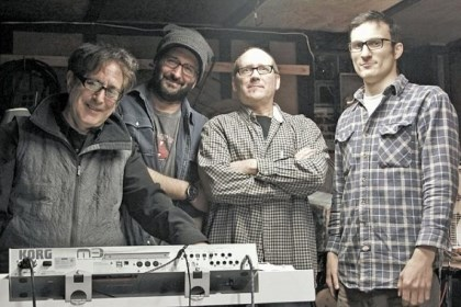 The Darkroom The Darkroom -- Steve Sciulli, Paul Michael Ferraro, Dennis Childers and Dean Catania -- will play Friday at The Irma Freeman Center for Imagination in Garfield.