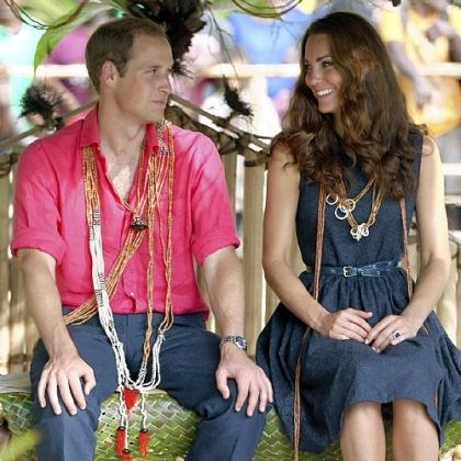 The Duke and Duchess of Cambridge Prince William and his wife, Kate, the Duke and Duchess of Cambridge, shown during a trip to the Solomon Islands in September, will be spending the holidays with her family.