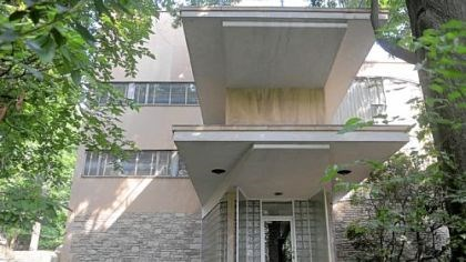 The Frank House The Frank House in Shadyside, a 17,000-square-foot home completed in 1940 and designed by architects Walter Gropius and Marcel Breuer, is being restored. Its owner hopes to turn it into a museum.