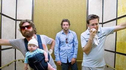 """The Hangover"" There are a lot more ways for men to bond on vacation than Las Vegas hedonism, as seen here in 2009's ""The Hangover."""