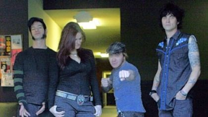 The Luchagors photo Lita, aka Amy Dumas, second from left, now wrestles with punk with The Luchagors.