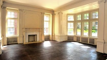 The McCook Mansion A first-floor parlor will become a breakfast room for guests.