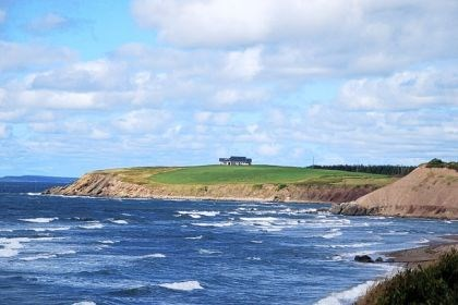 The rugged coastline of Cape Breton Island The rugged coastline of Cape Breton Island provides commanding views for travelers to enjoy.