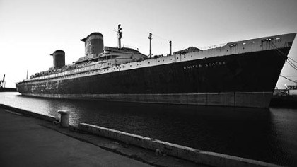 The SS United States All aboard!