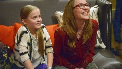 "The Stella sisters Real-life sisters Maisy and Lennon Stella portray Daphne and Maddie, the daughters of Connie Britton's character, Rayna James, on ABC's ""Nashville."""