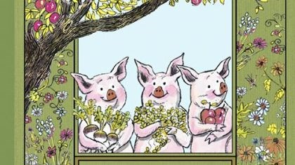 """The Three Little Pigs"" ""The Three Little Pigs"" is among the books being republished by Houghton Mifflin Harcourt."