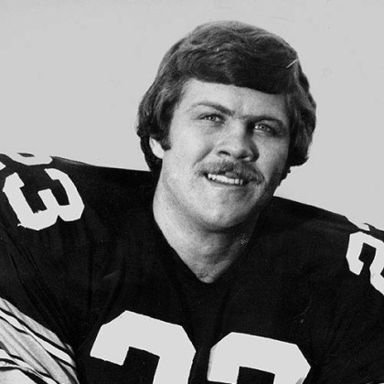 Then: Mike Wagner The Pittsburgh Steelers' Mike Wagner.