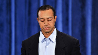 Tiger Woods Tiger Woods makes a statement at the Sawgrass Players Club in Ponte Vedra Beach, Fla, Friday.