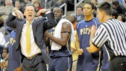Timeout needed Apparently, Pitt coach Jamie Dixon wants a timeout yesterday in the second half.